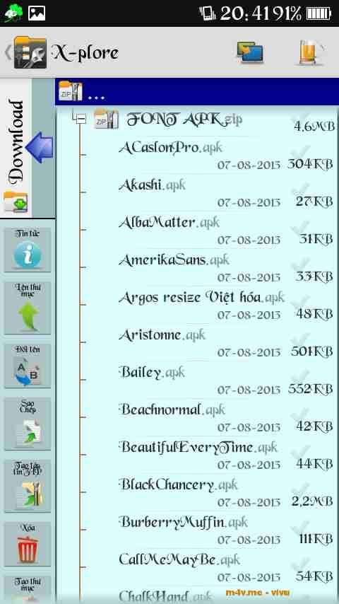 Chia sẻ 33 bộ font chữ đẹp nên cài cho Android